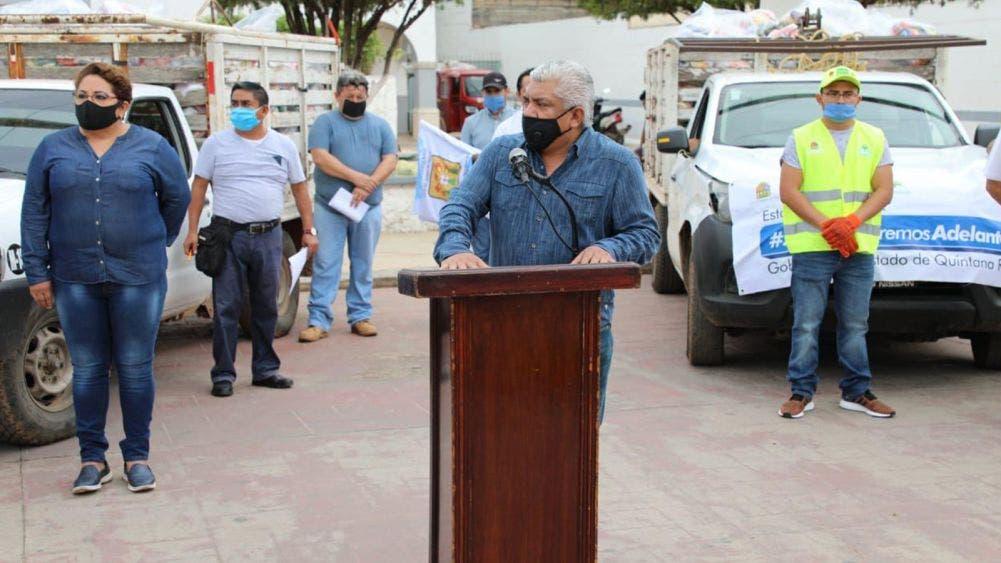 Inician en José Maria Morelos segunda entrega de despensas