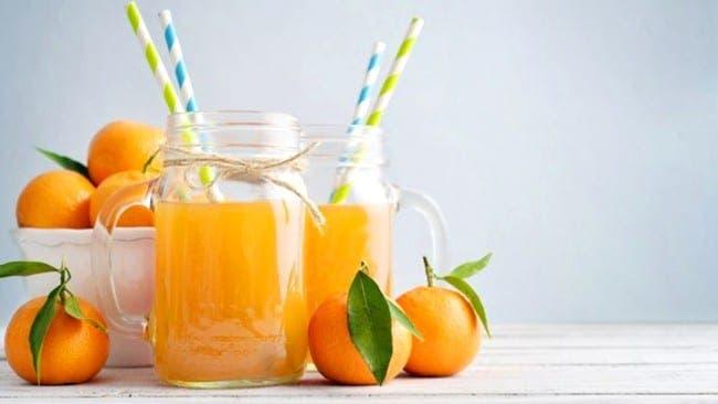 Jugo de mandarina en tiempos de calor y coronavirus