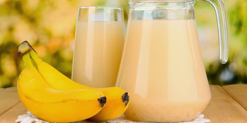 Prevé el cáncer con este delicioso jugo de Plátano