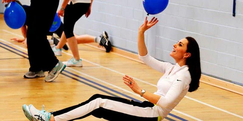 Rutina de ejercicios que hace Kate Middleton para tener ABS de acero