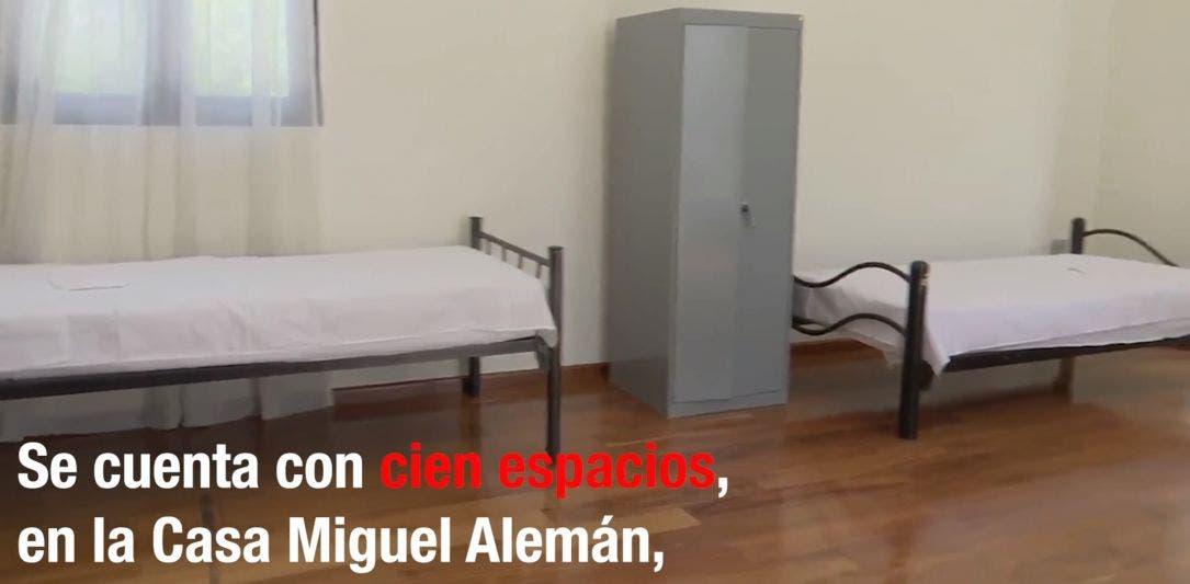 """""""Decidí hospedarme en Los Pinos para cuidar a mi familia"""": enfermera"""