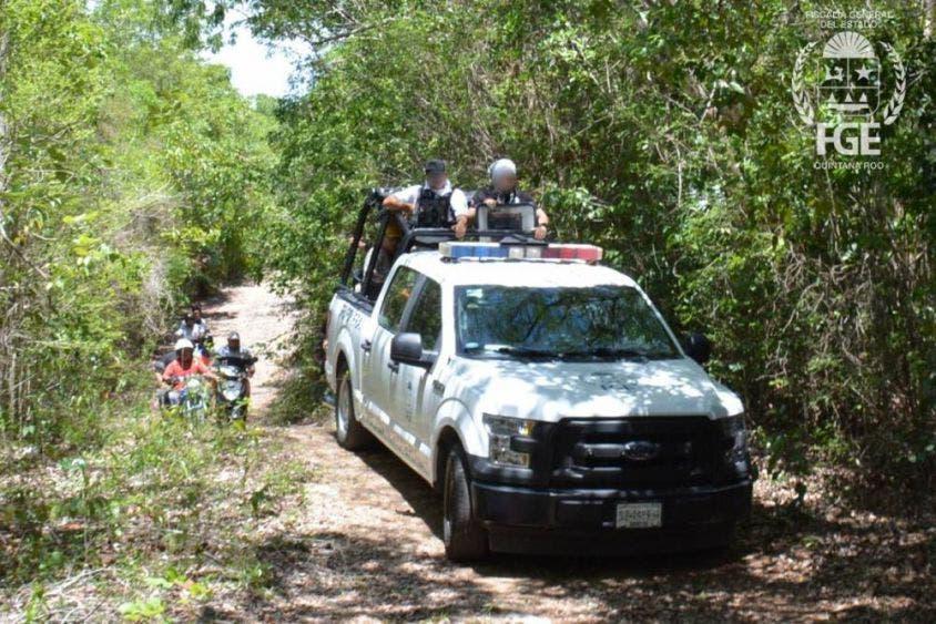 Detienen a implicados en homicidio de dos ciclistas en Cancún.