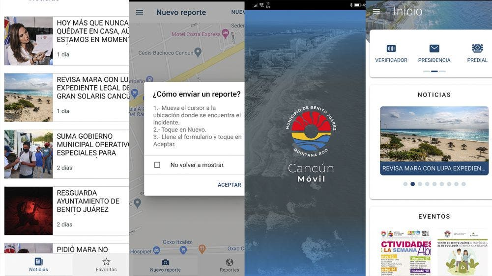 Con E-CUN y CANCÚN MOVIL mantenemos atención de trámites en línea durante pandemia: Mara