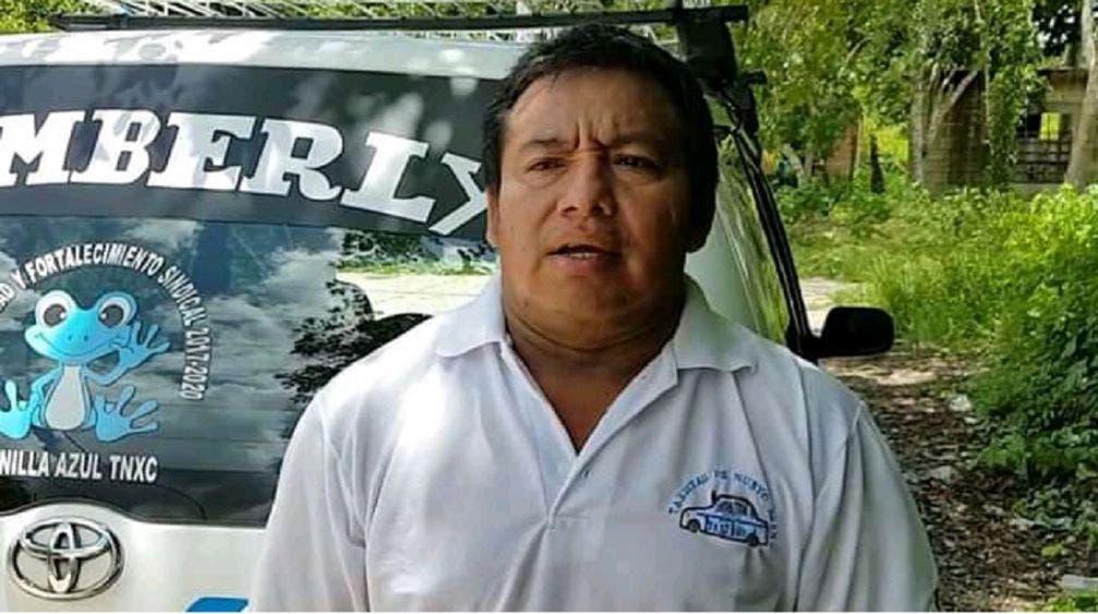 Desdeña líder taxista de Nuevo Xcan Covid-19, realizará asamblea