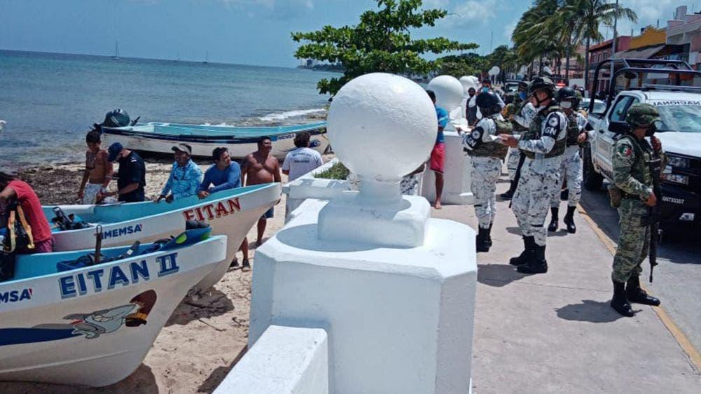 Asegura Armada de México a pescadores descubiertos sin permisos para pescar