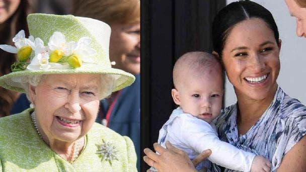 La fría felicitación de la Reina Isabel II a Archie en su primer cumpleaños