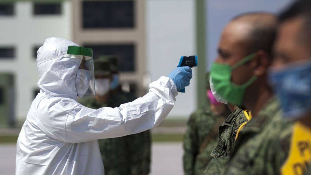 Reportan cinco militares contagiados de coronavirus en Chihuahua