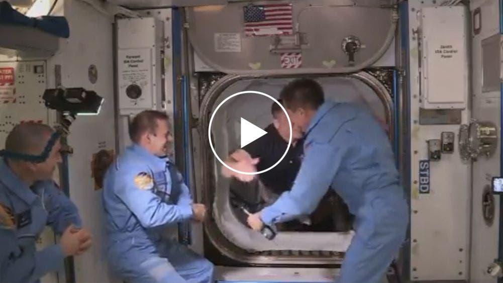 Nueva era en exploración espacial: astronautas de Space X en la EEI