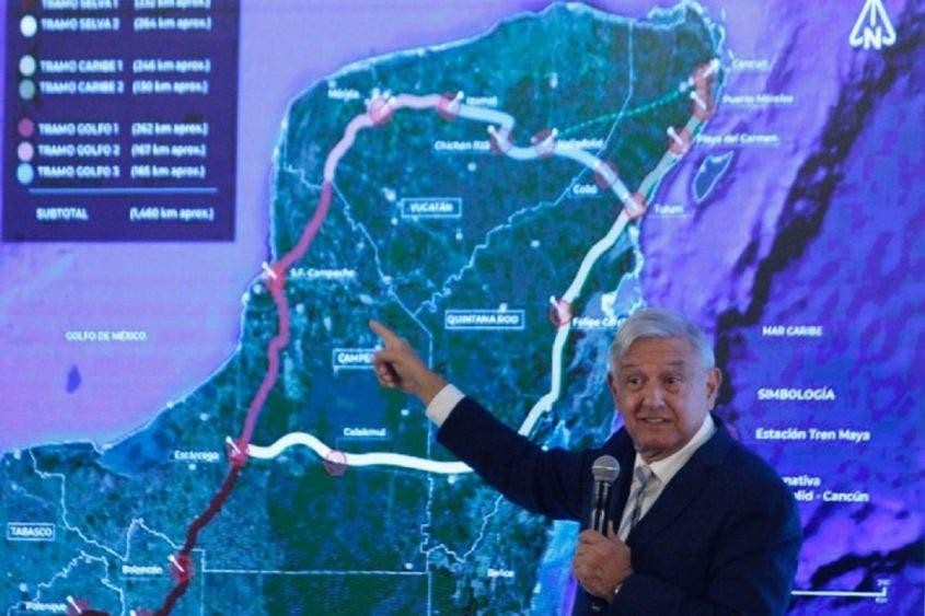 Tren Maya generará 100 mil empleos: AMLO