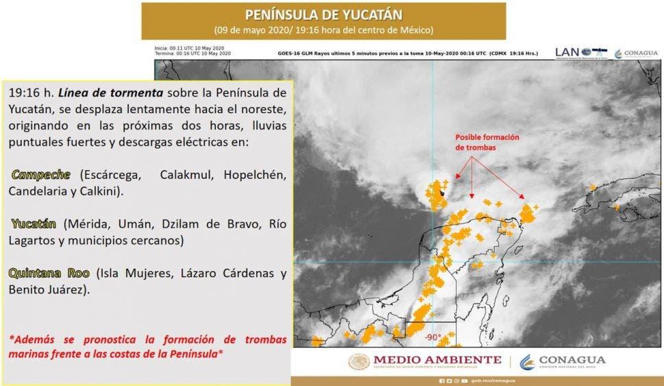 Vislumbran una difícil temporada de huracanes en Lázaro Cárdenas.
