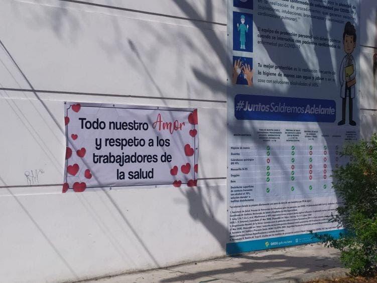 Gran gesto de vecinos con una enfermera de Cozumel; en la colonia Emiliano Zapata reciben como héroe a Flory Sabido Tamayo.