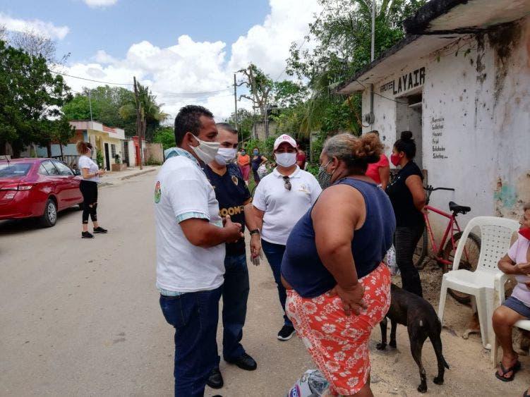 Han entregado más de 5 mil cubrebocas por la pandemia; se protege e la población contra el mortal virus: Nivardo Mena.