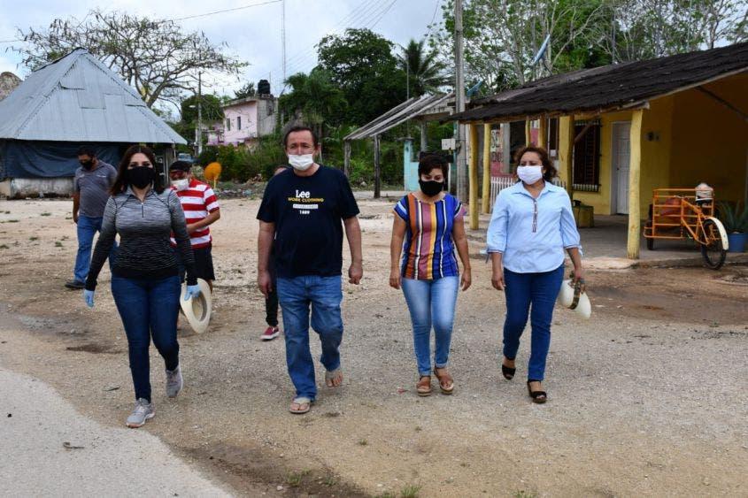 Han entregado más de 5 mil cubrebocas por la pandemia.