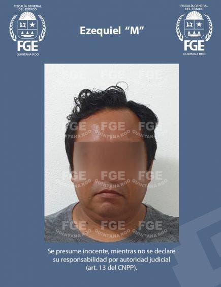 Detienen Bacalar a presunto pederasta de Coatzacoalcos.