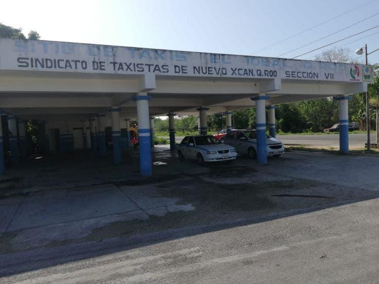Podrían suspender asamblea de taxistas en Nuevo X-Can.