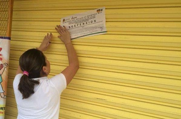 Clausura Cofepris 70 negocios de venta de alimentos