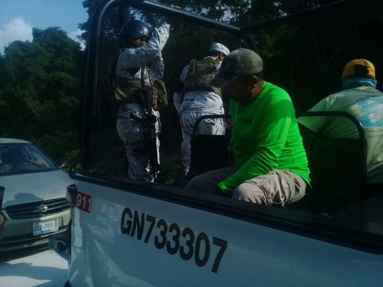 Detienen en Cozumel a pescadores con especies en veda.