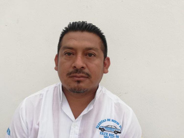 Presenta plan de trabajo aspirante a líder taxista en Nuevo X-Can.