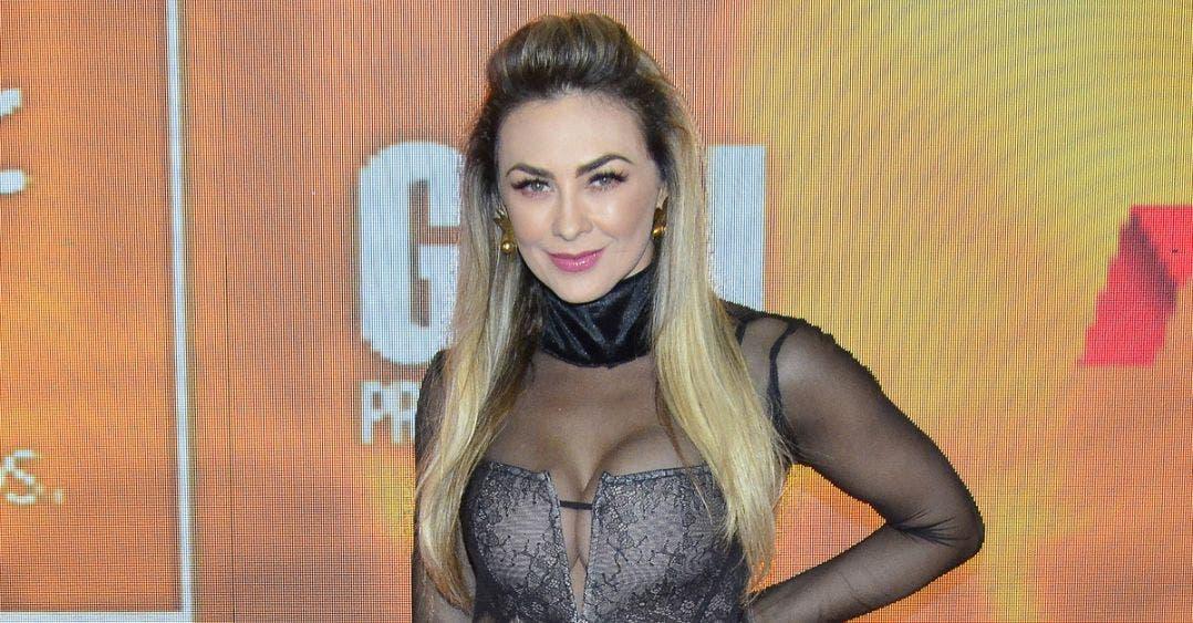 """Aracely Arámbula arranca suspiros bailando """"Tusa"""""""