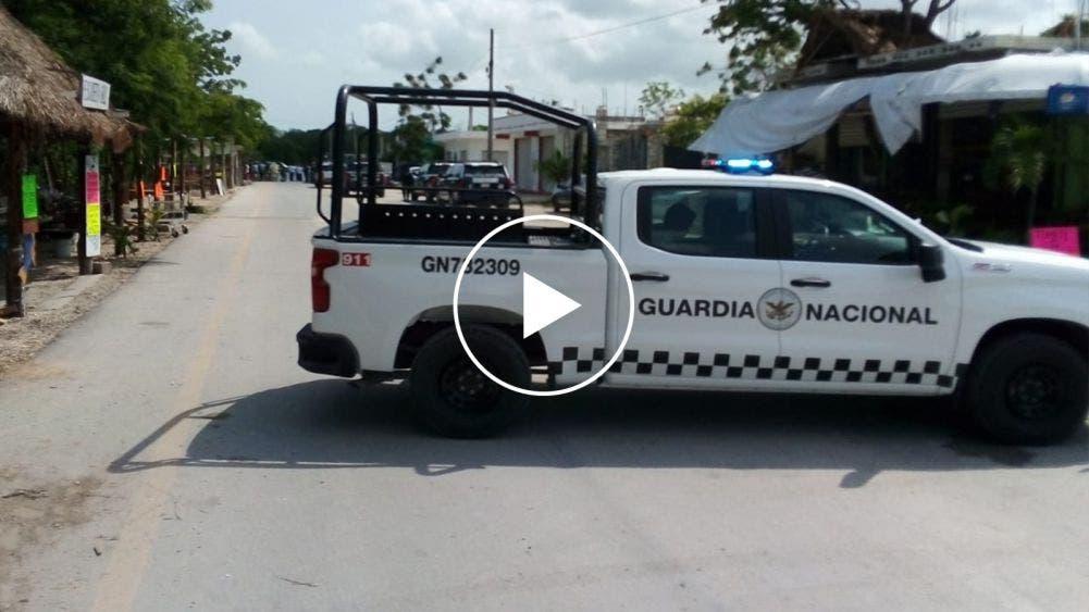 Impide Guardia Nacional instalación de bazar irregular
