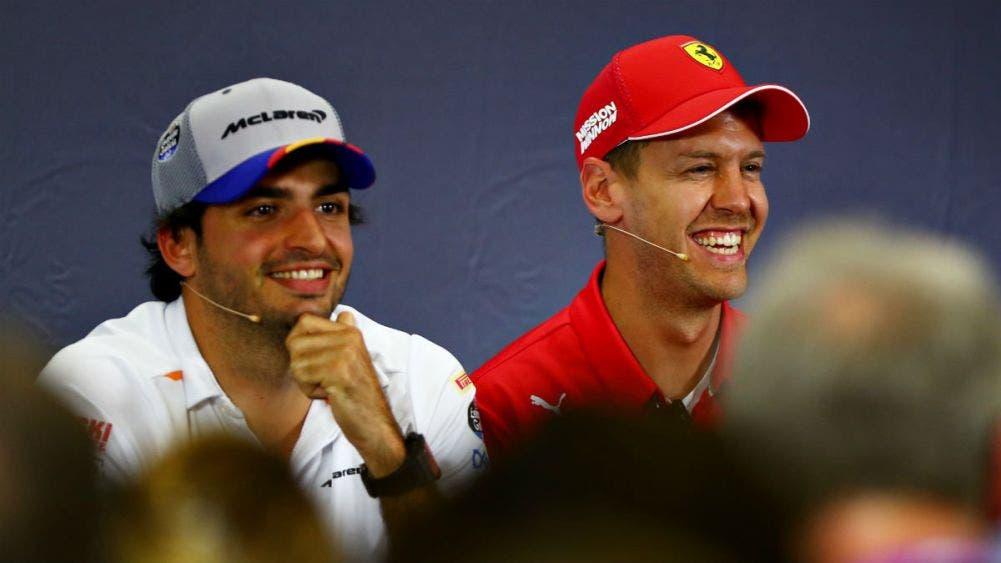 Carlos Sainz reemplazará a Sebastian Vettel en Ferrari a partir de 2021
