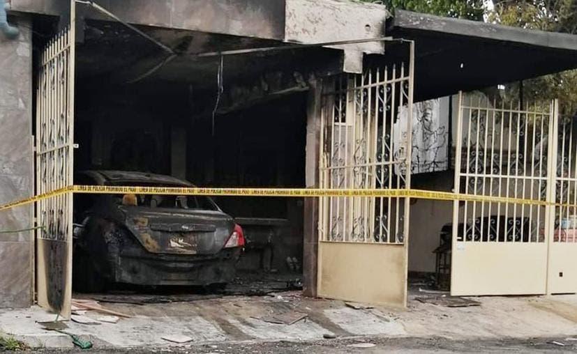 Sujetos incendian la vivienda de una enfermera de Mérida