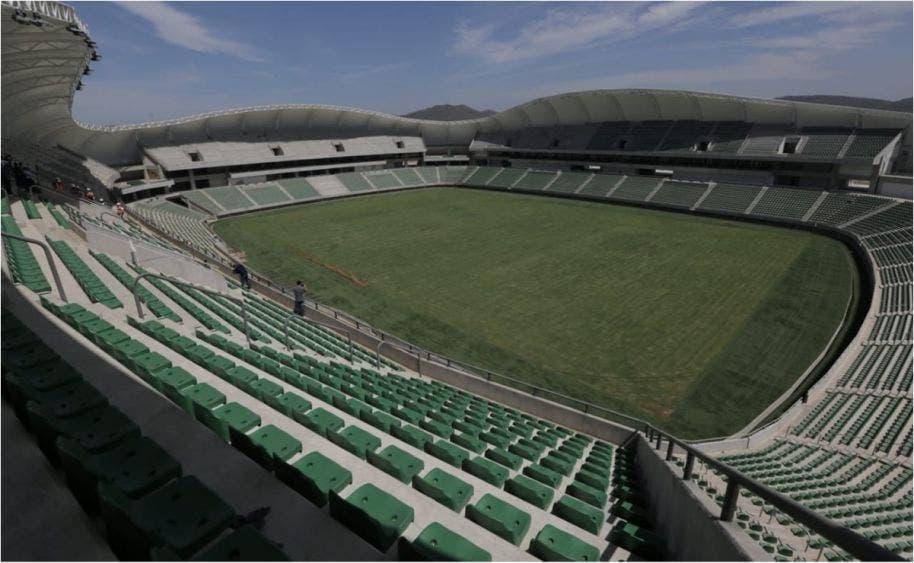 Mazatlán presume nuevo estadio de futbol
