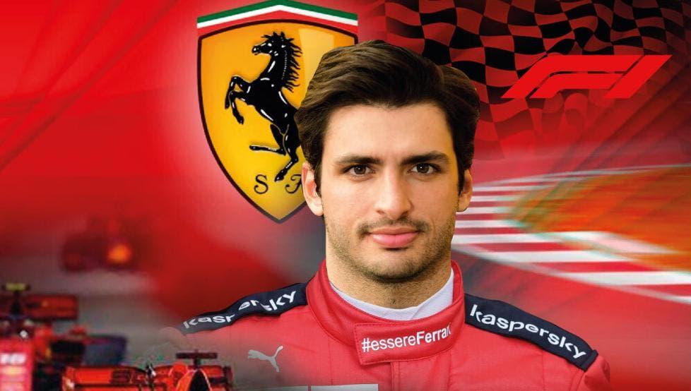 Ferrari anuncia a Carlos Sainz como su nuevo piloto