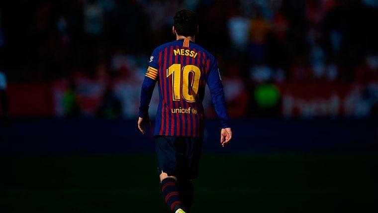 Messi se quita 10 años de encima con cambio de look