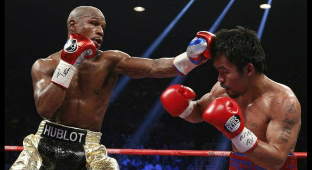 Manny Pacquiao llama envidioso a Floyd Mayweather