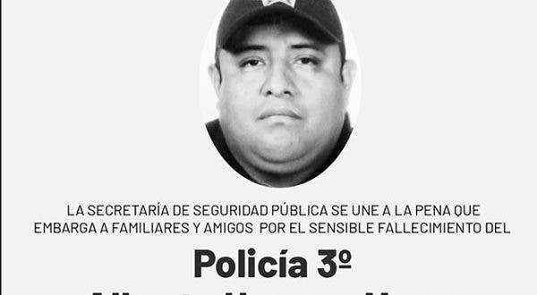 Fallece el segundo policía de la SSP de Yucatán, tras contraer Coronavirus