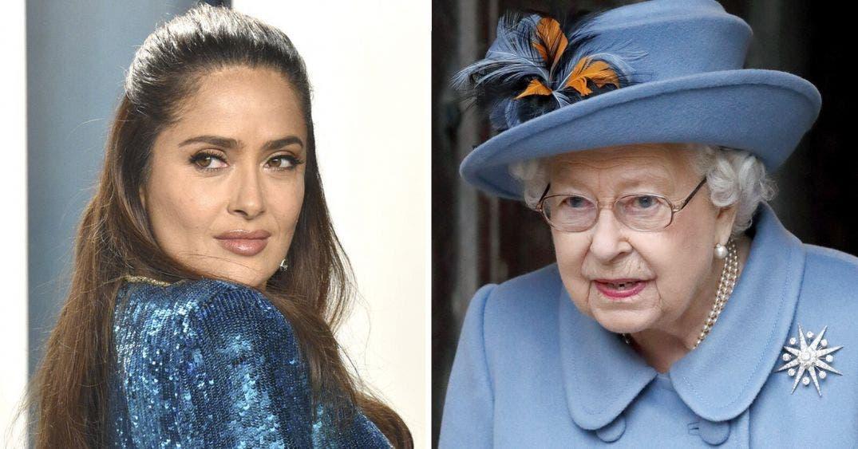 Salma Hayek es más millonaria que la propia Reina Isabel II