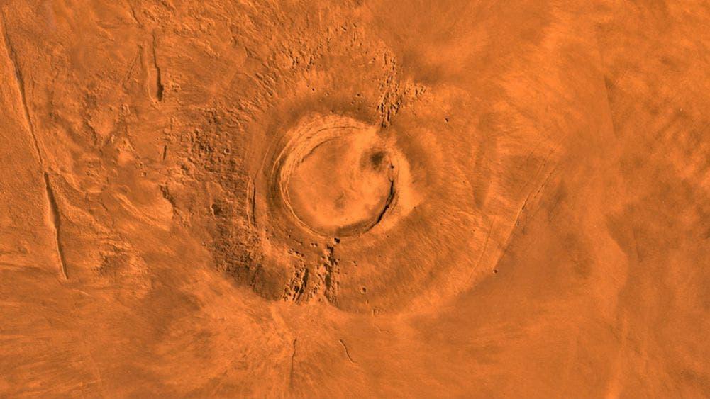 Meteorito Tissint confirmaría actividad volcánica en Marte