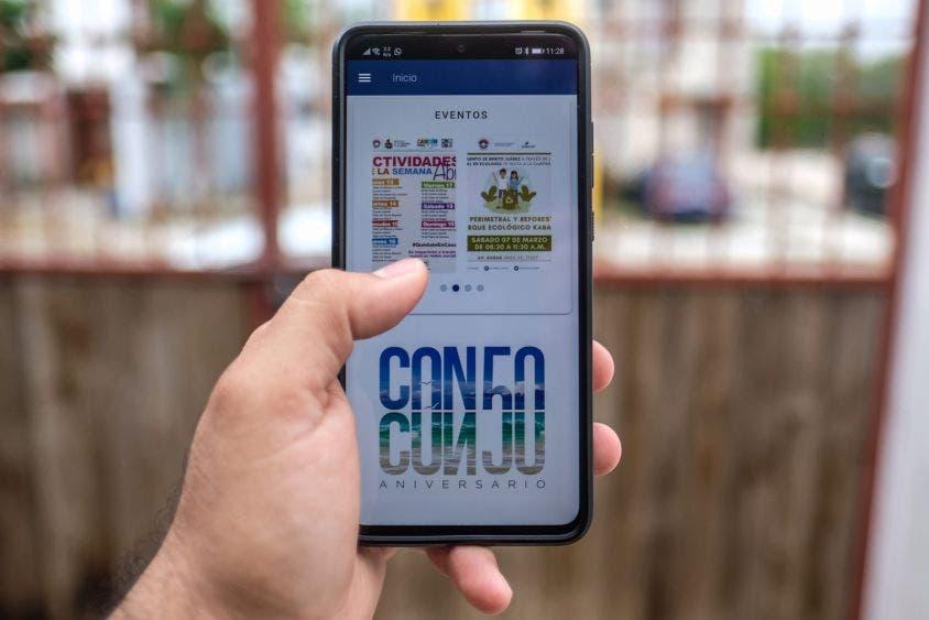 La aplicación municipal E-CUN rebasa las 1,600 descargas en un mes.