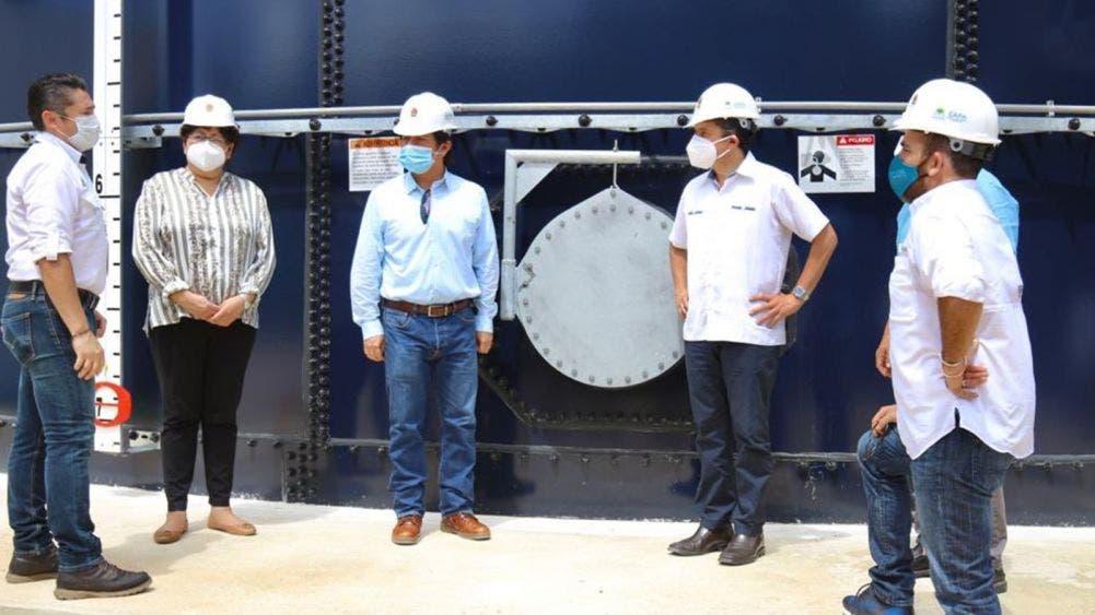 Red de Distribución de Agua Potable en ZH, hito histórico para Tulum: Víctor Mas