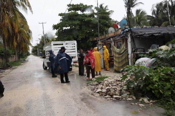 Yucatán en alerta naranja por depresión tropical 'Cristóbal'