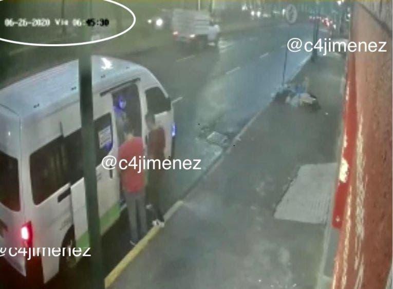 Pistoleros que atentaron contra García Harfuch huyeron en combi