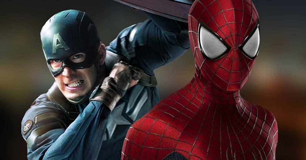 Chris Evans dejó el escudo del Cap para convertirse en Spider-Man