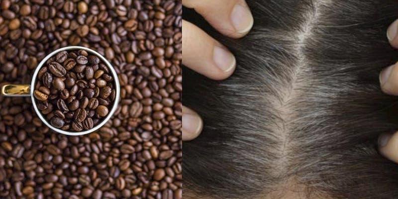 #QuédateEnCasa: Tinte natural de café para eliminar canas