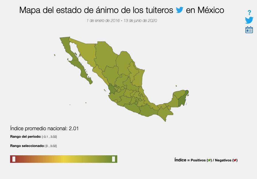 Noticias cambian el estado de ánimo de mexicanos en Twitter: Inegi; computadora puede analizar el comportamiento de los usuarios.