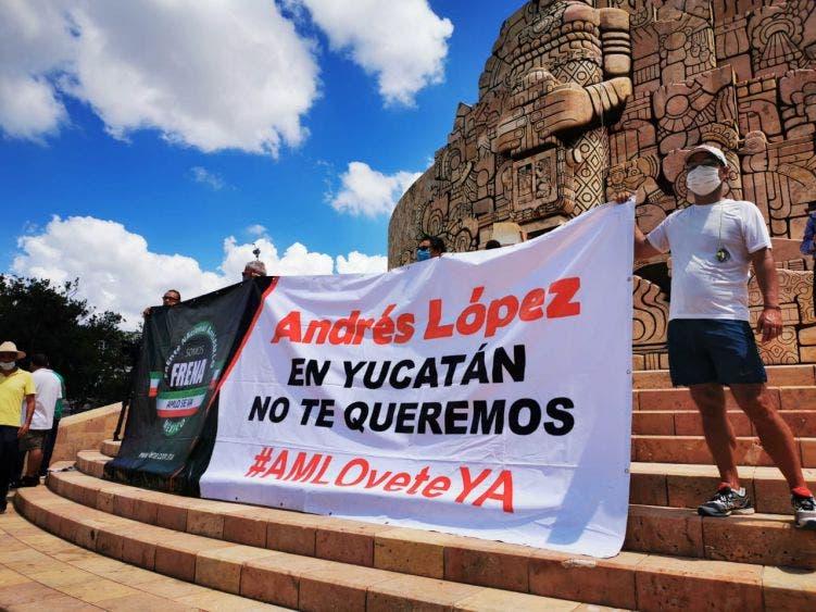 'Caravana Claxonazo'; Nueva marcha contra AMLO en Mérida
