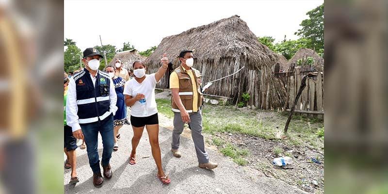 Carlos Joaquín anuncia el levantamiento de daños en la zona agrícola de las comunidades afectadas por las inundaciones
