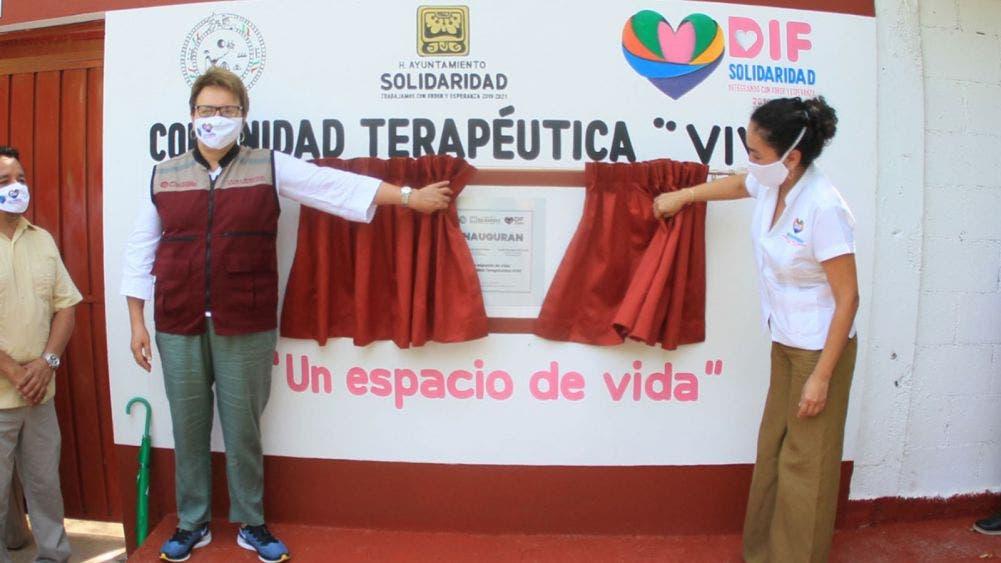Inauguran instalaciones de Comunidad Terapéutica VIVE
