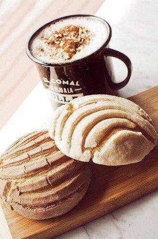 Prepara conchas caseras y disfruta con un delicioso café