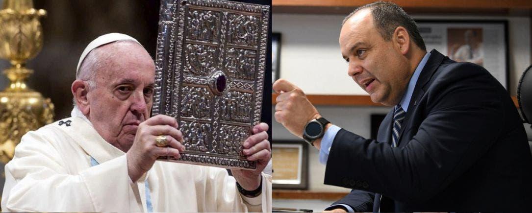 Coparmex no sólo nos acusó con el rey, también con el Papa: AMLO