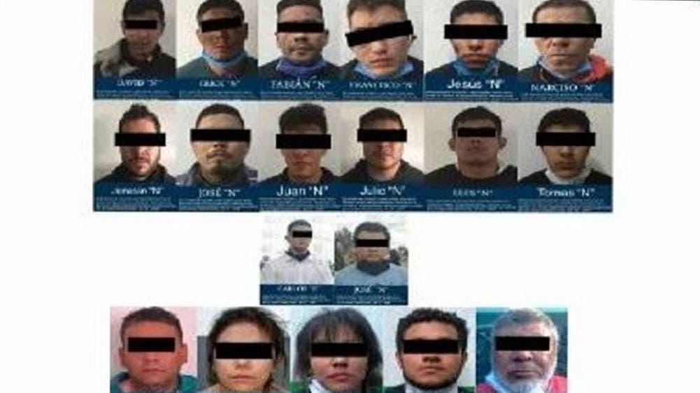 Ya están en el reclusorio Sur los 19 los presuntos atacantes de García Harfuch