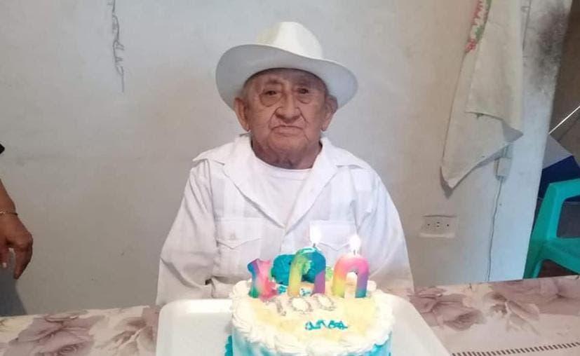 Panabá: Entre la pandemia y la tormenta 'Cristóbal', señor cumple 100 años de vida