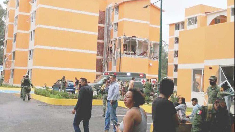 Explosión en zona militar en Cuernavaca deja 4 heridos