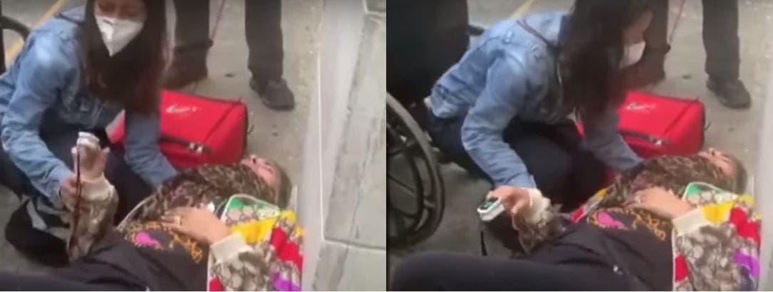 Galilea Montijo se desmaya y sufre aparatosa caída al llegar a Hoy
