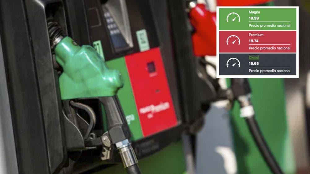 Precio de la gasolina en México hoy 27 de junio